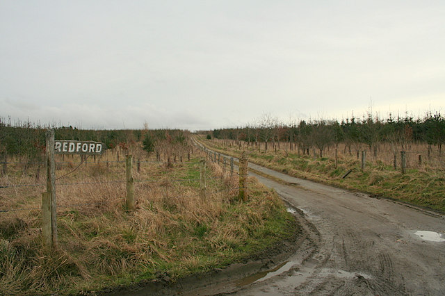 The lane to Redford.
