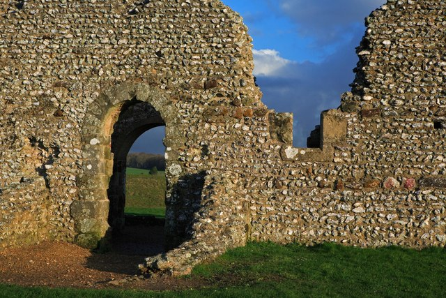 Knowlton Church ruins