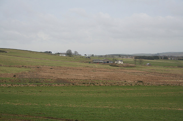 Across the fields to Wester Culvie.