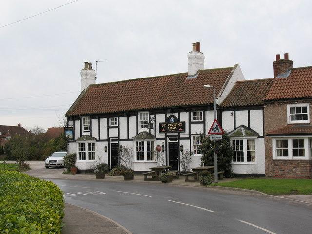 The St Vincent Arms, Sutton upon Derwent