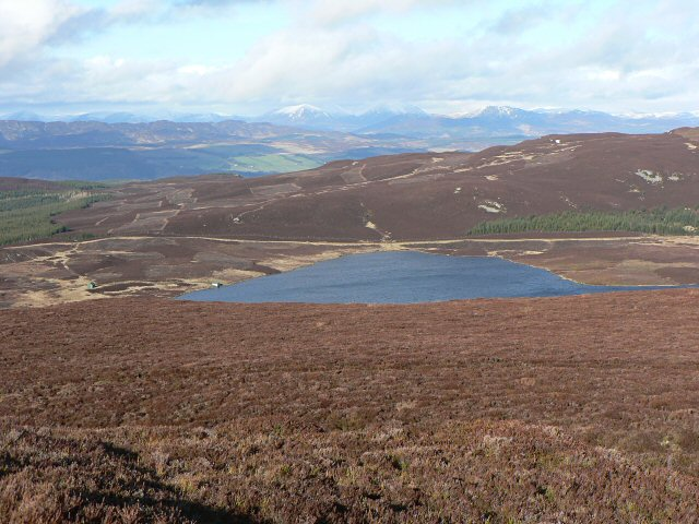 Loch Hoil from Meall Odhar