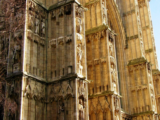 Beverley Minster from the north west