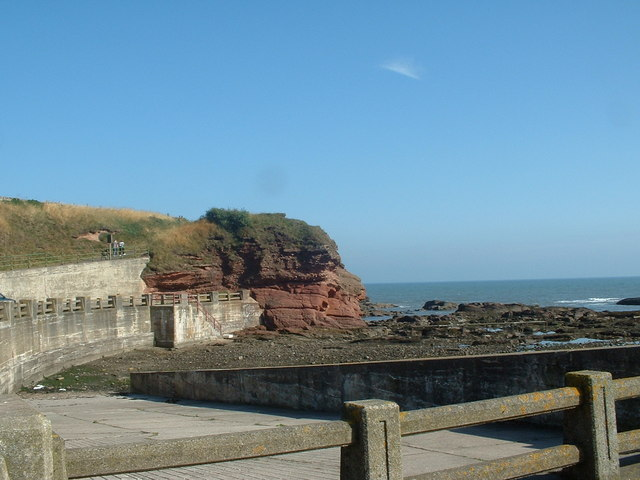Sandstone Cliffs Arbroath
