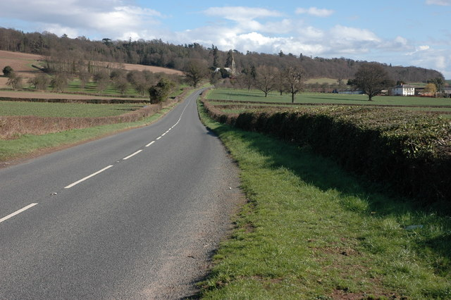 The A480 at Upperton