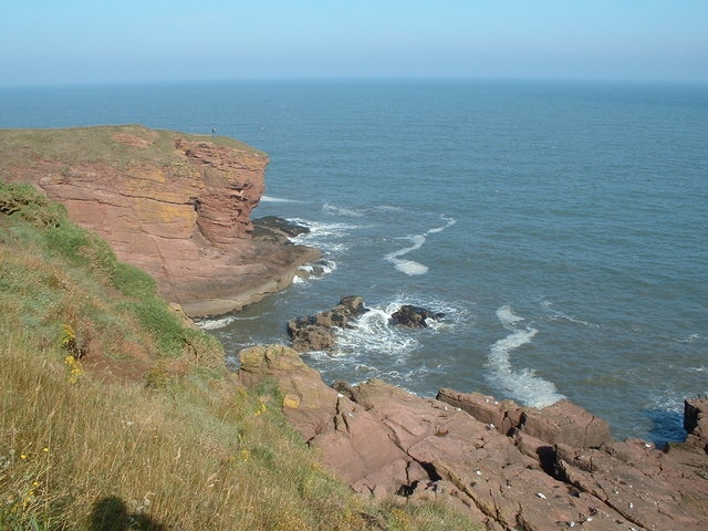 Seaton Cliffs from the west