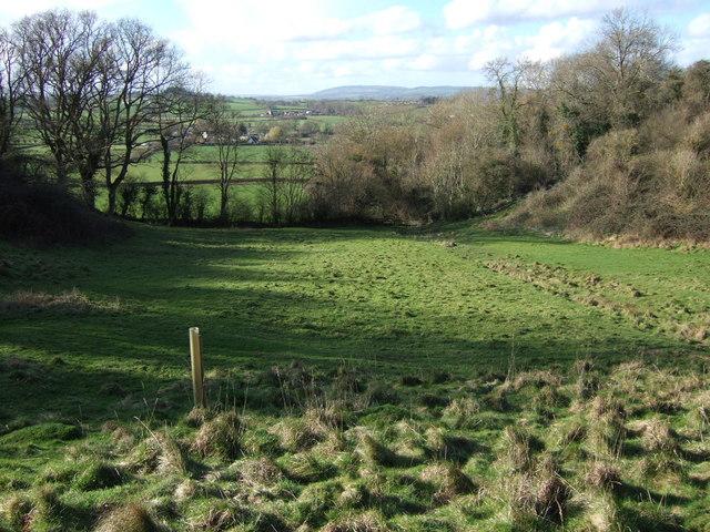 Field below Crimson Hill