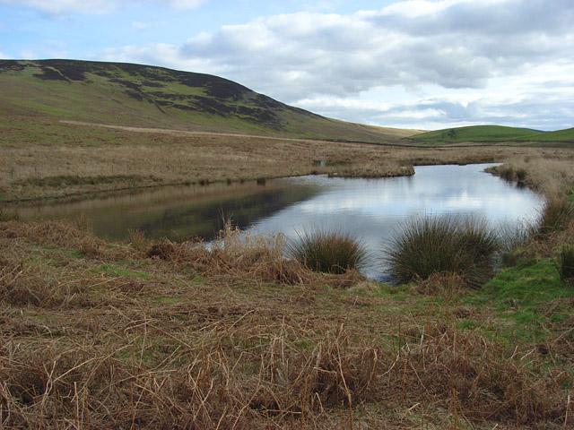 Pond above Beldcraig Linn