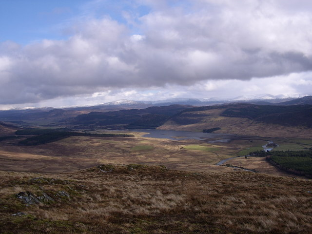 On the summit of Meall an Domhnaich
