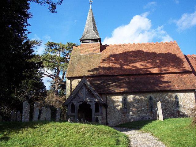 Holy Cross Church, Bignor