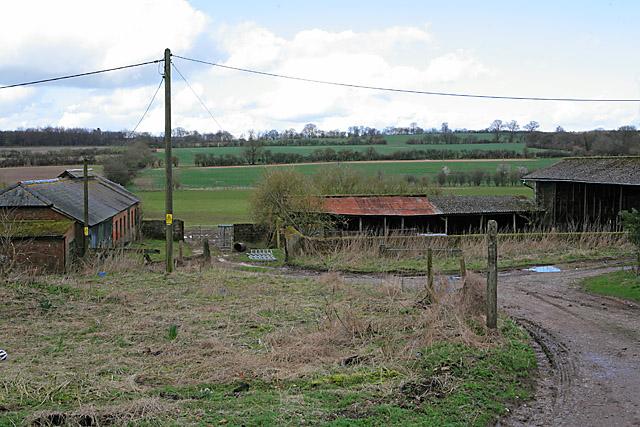 Farm Buildings at Whiteway Farm, East Stratton