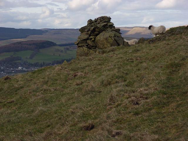 Cairn on Breckonside Hill
