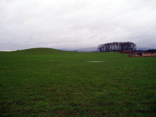 Kames in the plain of Kinross