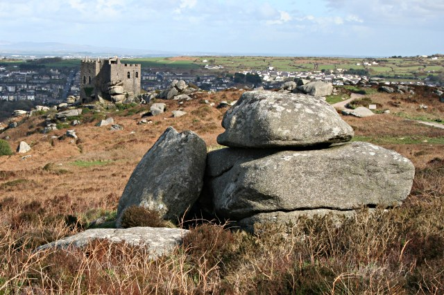 Carn Brea Summit