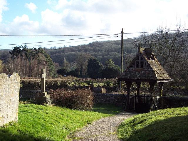 Holy Cross Church, Bignor - Lych Gate