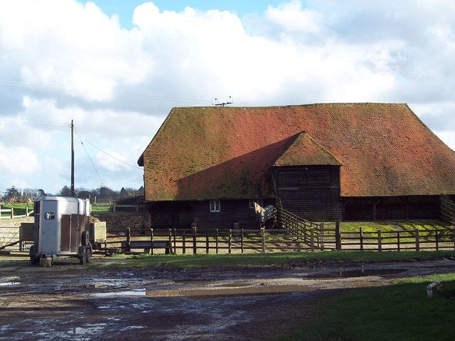 Barn near St Marys Church, Barlavington