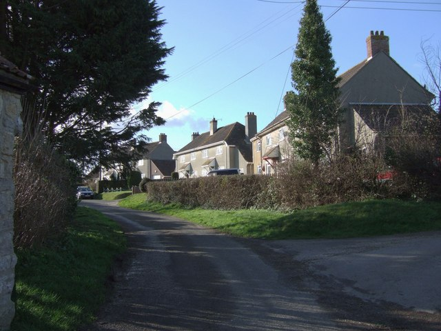 Houses in Redland Lane, Curry Mallet