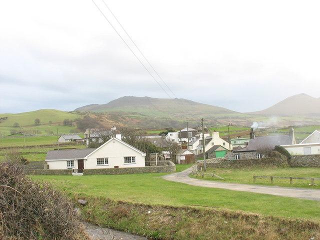 The hamlet of Aberdesach