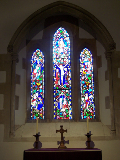 St James Church, Selham - Stained Glass Window