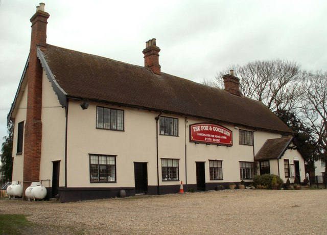 'The Fox & Goose Inn' at Fressingfield