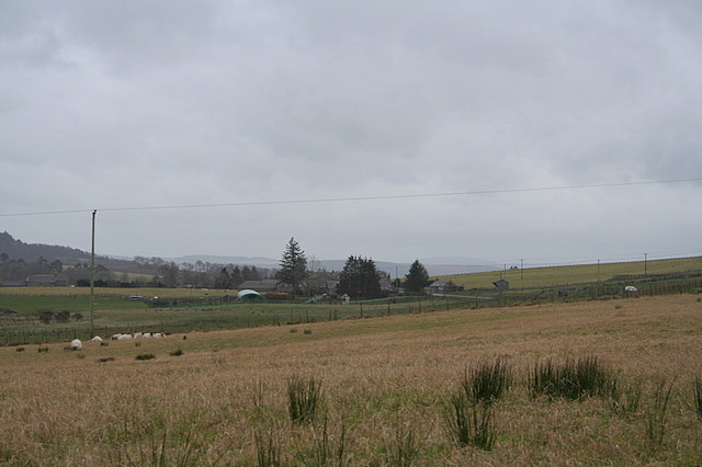 View from Finnygaud to Knowes of Elrick