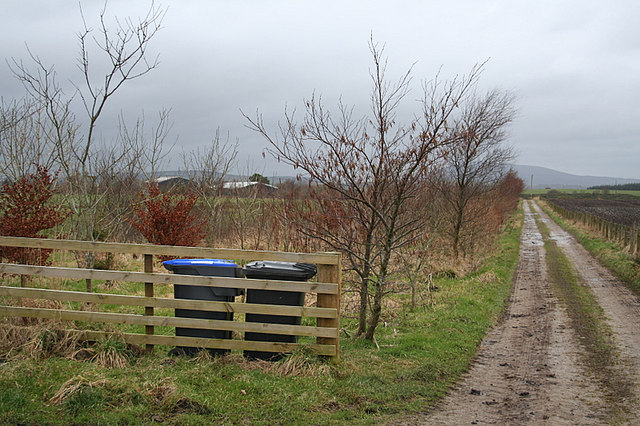 The lane to New Croft.