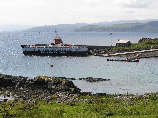 Kilchoan to Tobermory Ferry