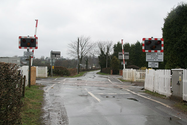 Leigh Level Crossing