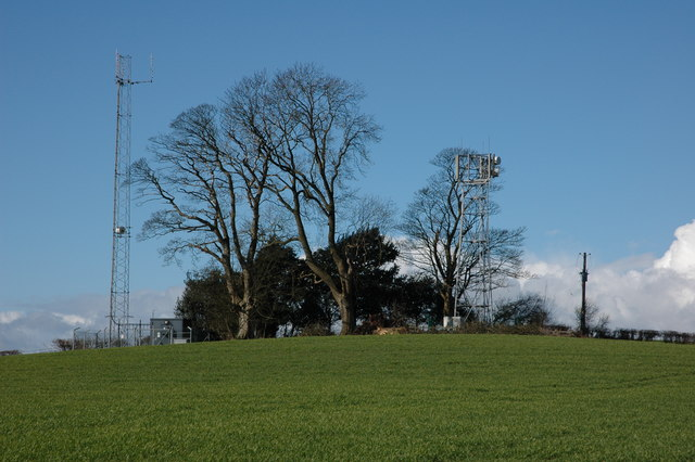 Masts on Wormsley Hill