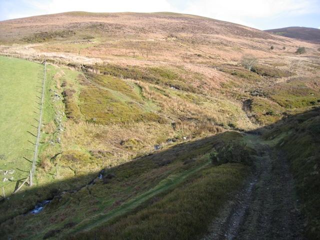 Stream Crossing  near Moel y Gamelin