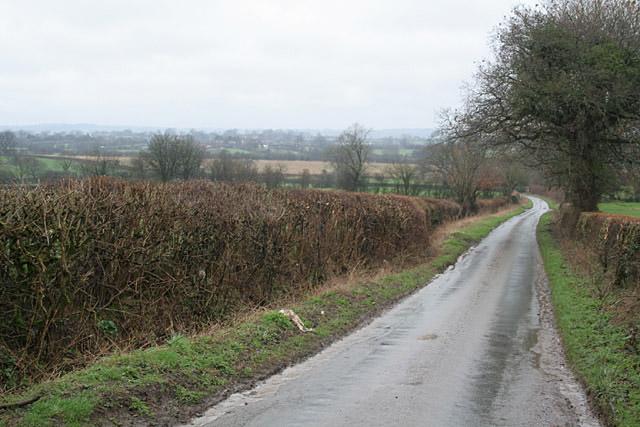 Hothill Lane near Withington