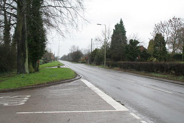 A522 at Deadman's Green