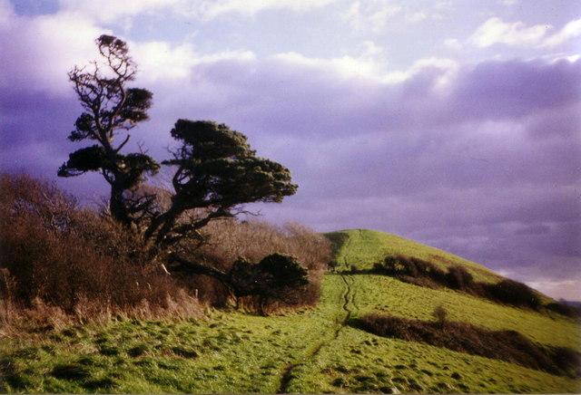Climbing Bothen Hill