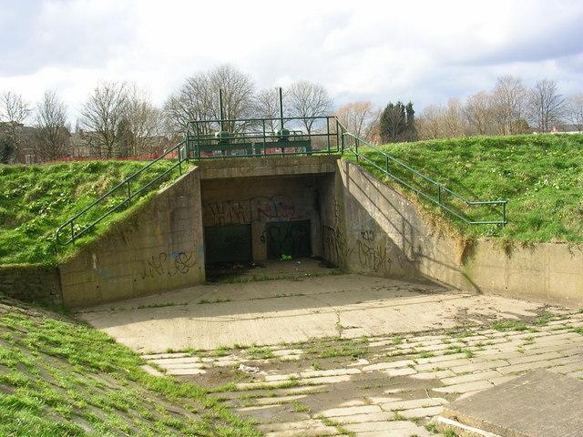 Mersey flood control
