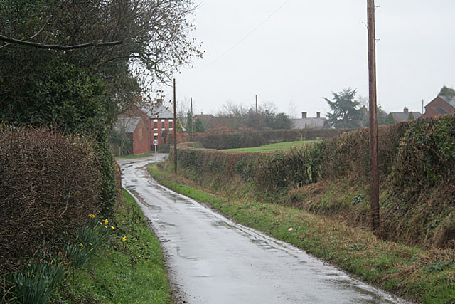 Hollington Lane at Stramshall