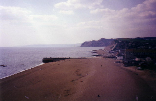 West Bay before the new piers were built