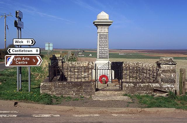 Sortat War Memorial