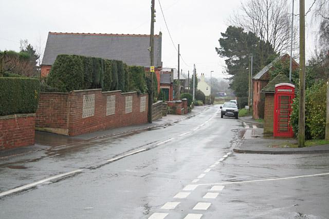 Stramshall village