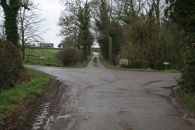 The end of Hook Lane