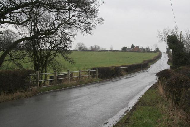 Roman Road near Woottons