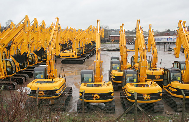 Excavators on Parade