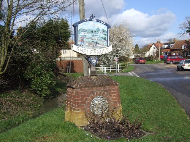Shelfanger Village Sign