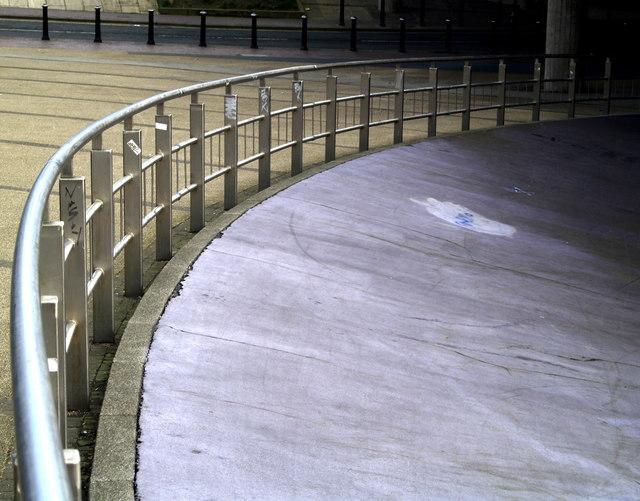 Fenced Footway