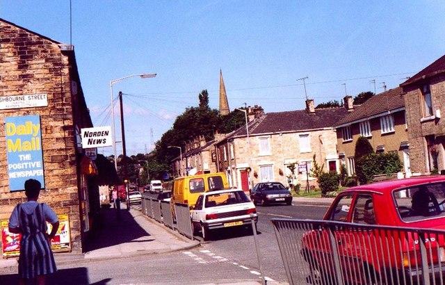 Edenfield Rd jct Ashbourne St, Norden
