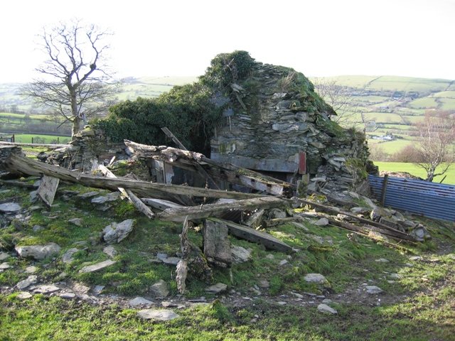 The Ruined Pen-y-bryn Farmhouse