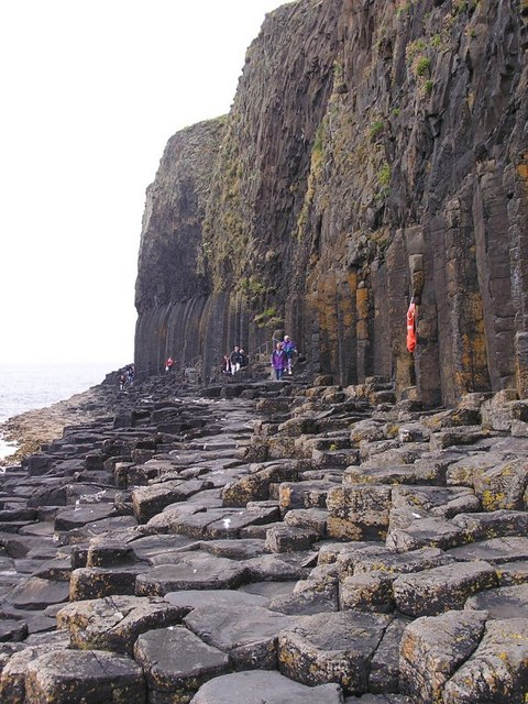 The Path to Fingals Cave