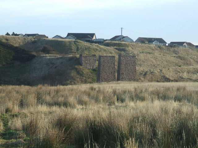Remains of Rail Viaduct from Cruden Bay