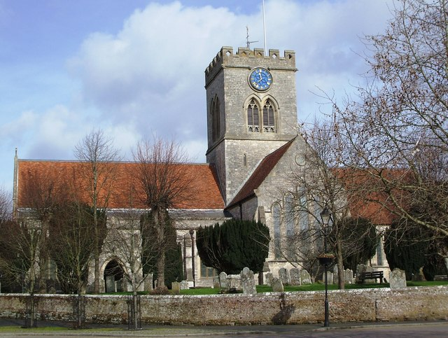 Church of St Peter and St Paul - Ringwood.