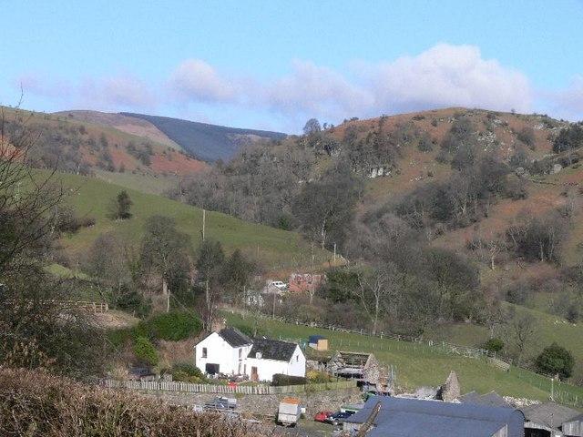 Sychnant in the Berwyn hills