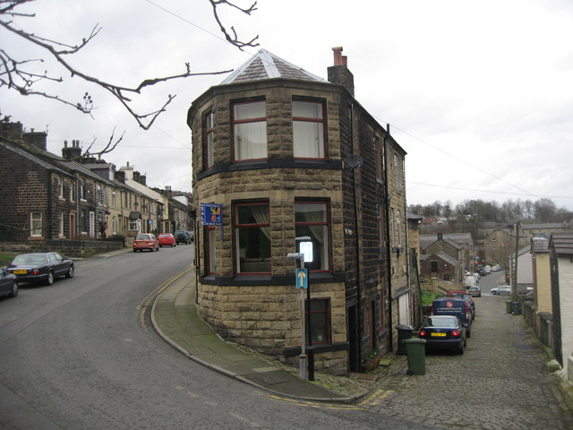 House on the corner Ramsbottom