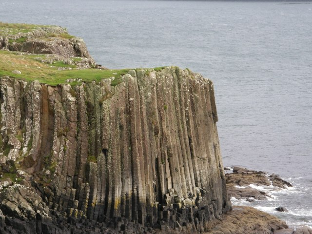 Basalt cliffs, Isle of Ulva